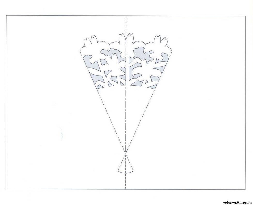 Как сделать киригами своими руками 77