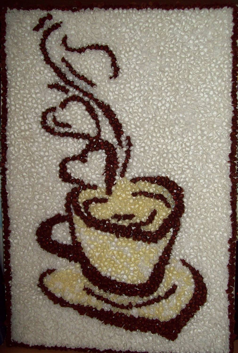 Чашка с кофе фото схема